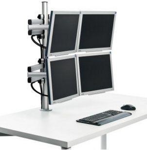 mehrgelenkige Monitor-Tischhalterung für 4 Monitore