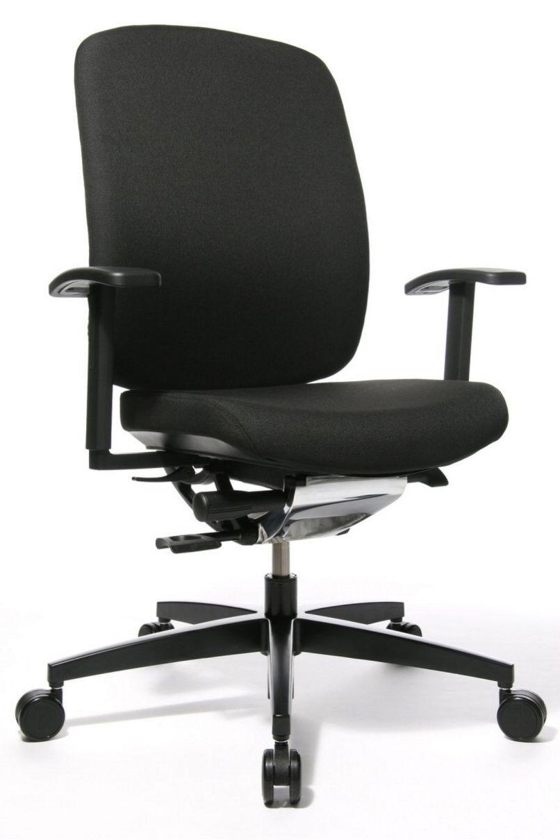 Schreibtisch-Drehstuhl mit bequemer Sitzpolsterung